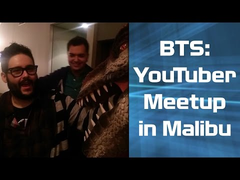 BTS: Youtuber Meetup in Malibu w/ Steve Zaragoza, William Haynes, Brock Baker, Elliott Morgan...
