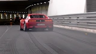 Ferrari 348 BURNOUTS in Monaco