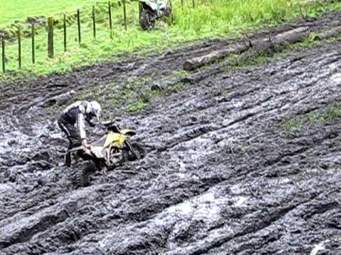 Little Kids Mud Bogging