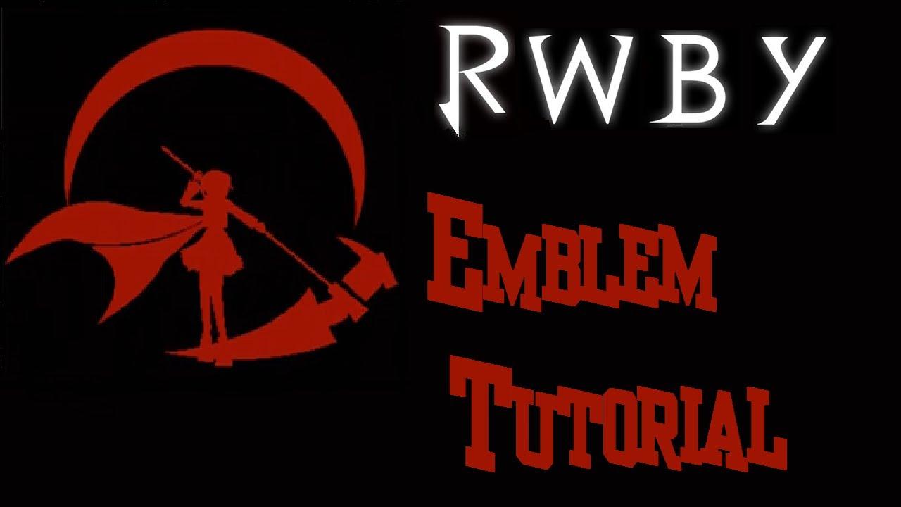 RWBY Ruby Emblem Tutorial BO2 - YouTube