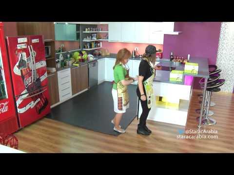 ليا وكنزة ترقصان في الاكاديمية - Lea & Kenza Dancing