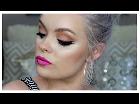 How To Smoke Out Eyeliner   Full Face Makeup Tutorial