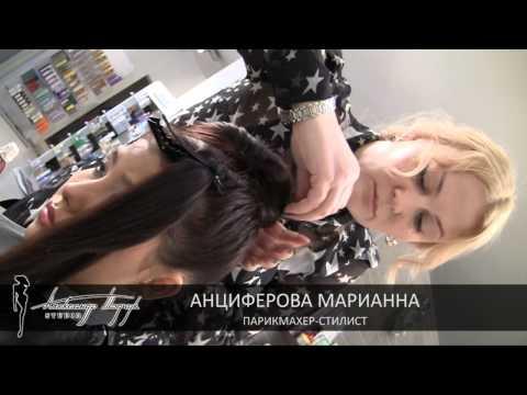 Видео как сделать причёски стиляг