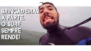 Quase Perdi os Dentes?   Vlog #33   Surf Dicas