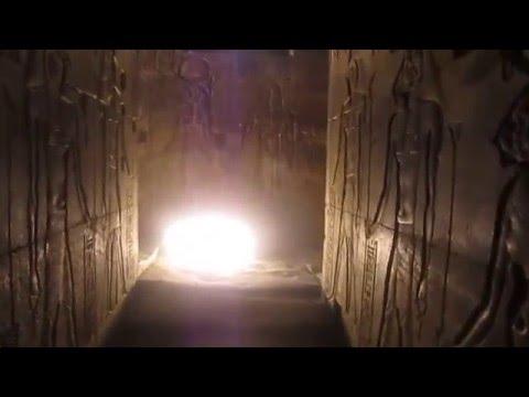 Horus Temple At Edfu's Stairway To The Sun