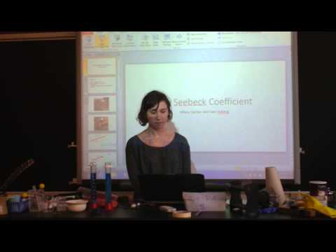 Indie Lab - The Seebeck Coefficient Makes Thermocouples Work