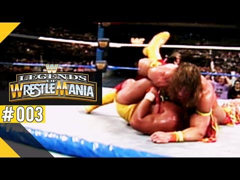 WWE LEGENDS OF WRESTLEMANIA [PS3] #03 - Ultimate Warrior vs. Hulk Hogan ● Let's Play WM-Tour-Modus