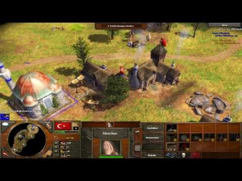Age of Empires III - Prärie- Osmanische Janitscharen - Multiplayer Gameplay