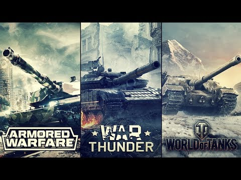 War Thunder vs WoT vs AW в 2018-том