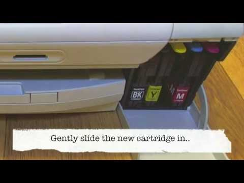 Brother DCP-197C - Changing the cartridges