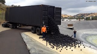 How many balls does it take to fill a reservoir?