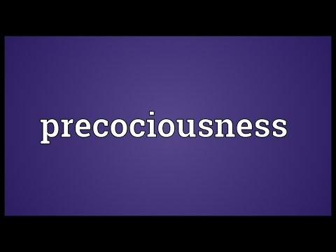 Header of precociousness