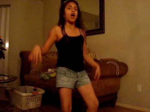 little sister dancing to camel toe! lol thumbnail