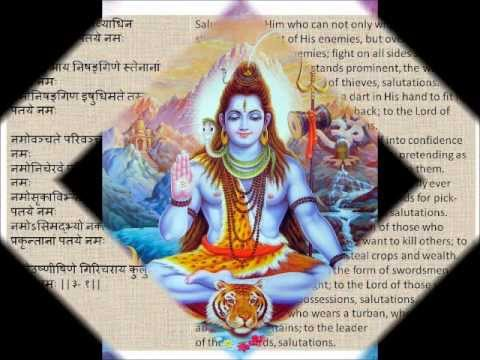 Rudram - Shiva Rudram Full Namakam-Chamakam Devanagari Sanskrit English Translations.wmv