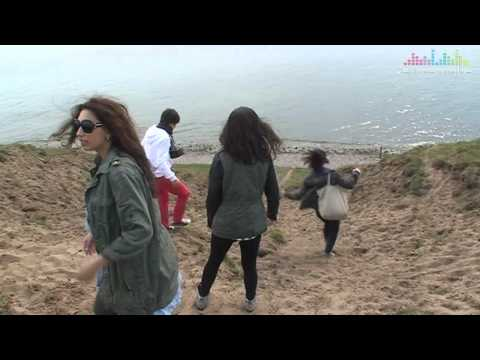 Roberto Bellarosa's visit to the coast of Scania (Belgium - Eurovision 2013)
