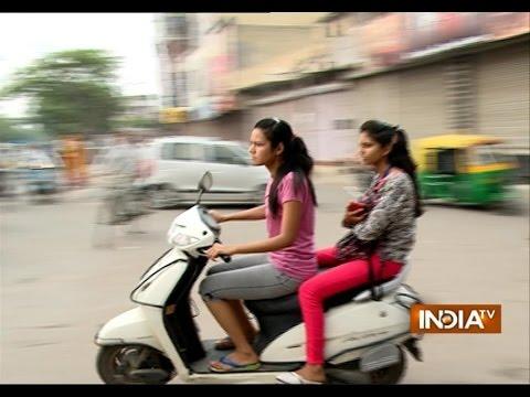 Safe Driving Campaign For Women In Delhi - India TV