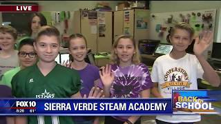 Back to school: Sierra Verde Steam Academy