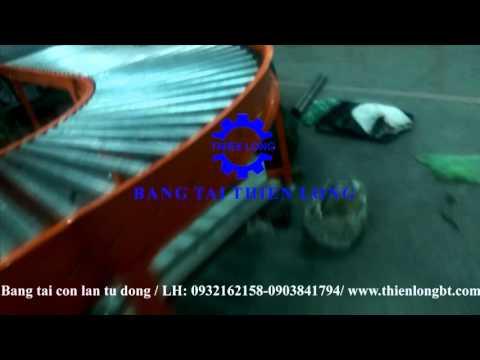 Hệ thống băng tải kiểm tra sản phẩm