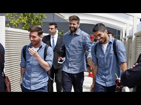 FC Barcelona's trip to Madrid to play Spanish Cup Final