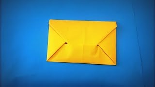 How to Make a Paper Envelope from A4 DIY - Easy Origami Step by Step