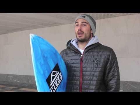 Mario Azurza, Europan zehar surfean
