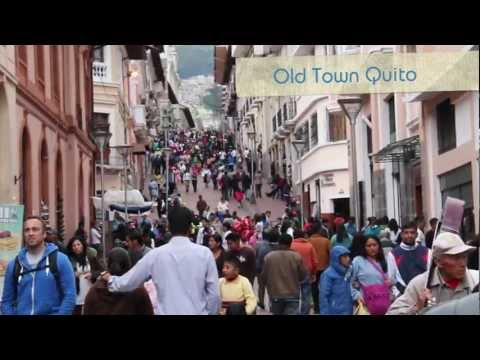 Travelling through Quito, Ecuador with Intrepid Travel