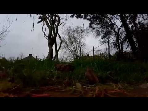 Dji Phantom f302 with Camera FC40 first drone crash