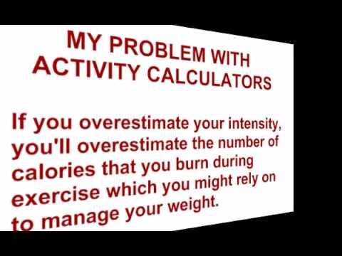 Are Calorie Calculators (Activity Calculators) Killing Your Diet?