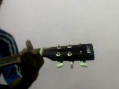 Sun mere dil ki zuban guitar tutorial.wmv