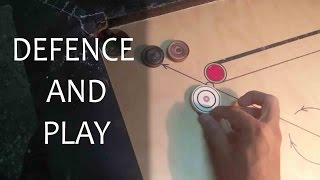 HOW TO DEFENCE AND PLAY/CARROM SHOT'S |by-ADITYA PADAWE|