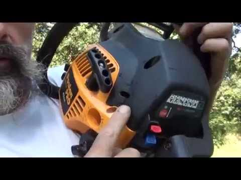 POULAN pro chainsaw making you a pullin' pro? easy fix it. how to. DIY