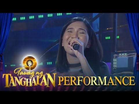 Tawag ng Tanghalan: Elaine Duran | Now That You're Gone
