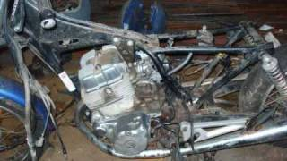 Honda Chopper Project Video #4 MOTORCYCLE TEARDOWN