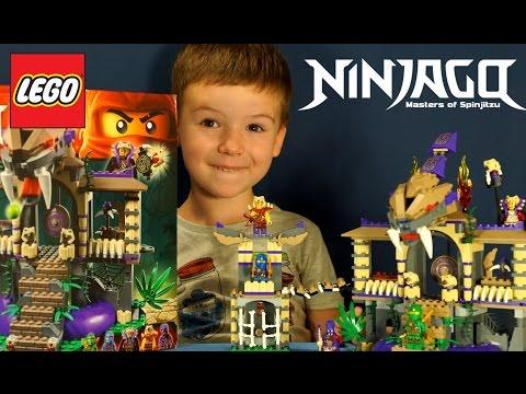 Конструктор Lego Ninjago 70749 - обзор на русском языке. Храм Клана Анокандрай