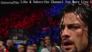 Roman Reigns Vs Kevin Owens Full Match   Universal Championship Match   WWE RoadBlock 2016 Full SHow
