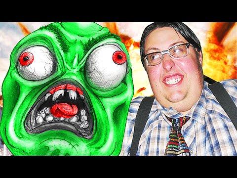 The Nerdiest Guy TROLLING on Call of Duty Zombies! (Advanced Warfare)