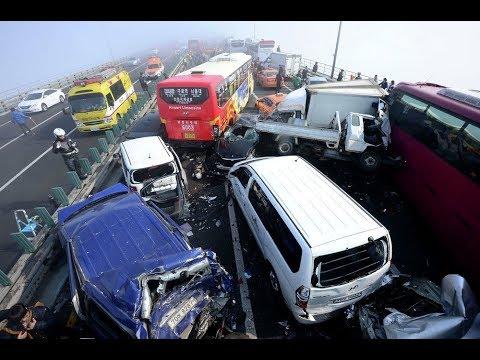 Подборка страшные ДТП, лоб в лоб ,опасные столкновения , ужасные происшествия, car crash compilation