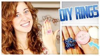 Make Your Own Fashion Rings! - Do It, Gurl