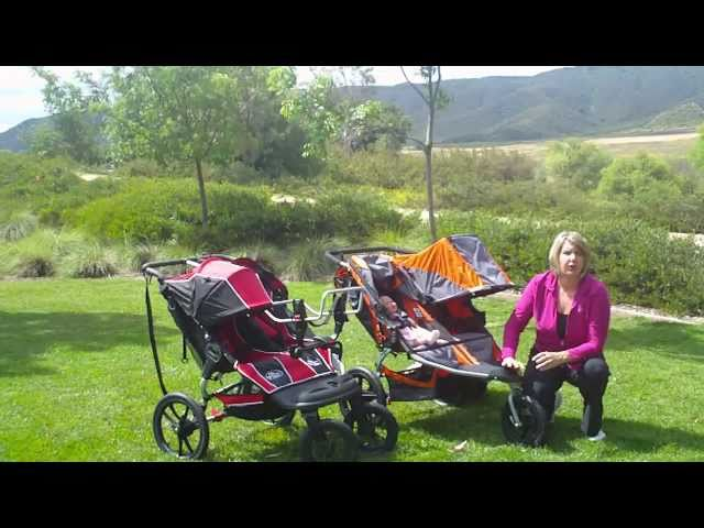 BOB Revolution SE Duallie vs. Baby Jogger Summit XC Double Jogging Stroller Comparison