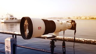 600mm!!! The new SONY TELEPHOTO Lenses!
