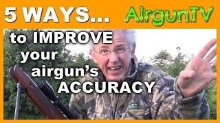 HOW TO improve airgun accuracy in 5 steps