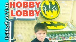 GUYS TRY THE HOBBY LOBBY CHALLENGE!