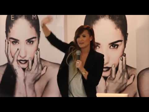 Coletiva de imprensa da Demi Lovato em São Paulo