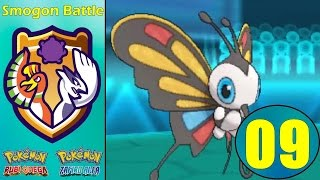 Pokémon RΩ/Zα | Smogon Battle E-09 | PU | Beautifly como sorprende