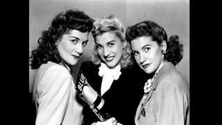 Watch Andrews Sisters Chattanooga Choo Choo video