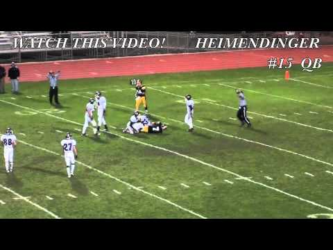 Nick Heimendinger, #15  QB, Bettendorf High School, Class of 2013