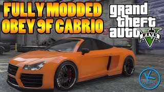 Gta 5 Fully Modified: Obey 9F Cabrio