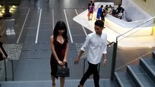 Á quân Cười Xuyên Việt Mạc Văn khoa cùng bạn gái sánh đôi đi ăn cưới