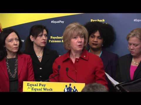 Baldwin urges Senate passage of Paycheck Fairness Act