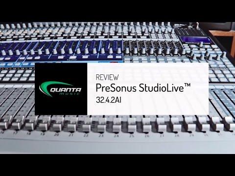 Review PreSonus StudioLive 32.4.2AI